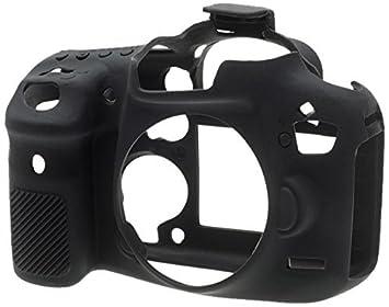 easyCover Silicone Protection Case for Canon EOS 7D Mark II Camera, Black