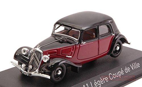 Norev nv153050シトロエン11Legere Coupe de Ville 1935ダークレッド/ブラック1: 43モデルの商品画像