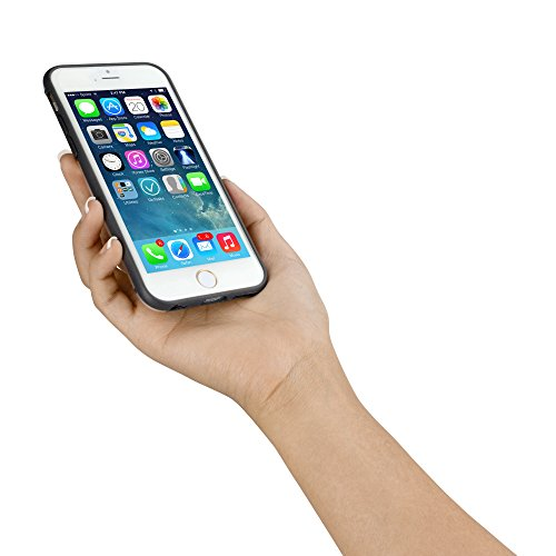 BoxWave Étui iPhone 6 et iPhone 6 SimpleElement BoxWave Corporation Coque Ultra-fine Semi-rigide transparente de protection (Bleu)