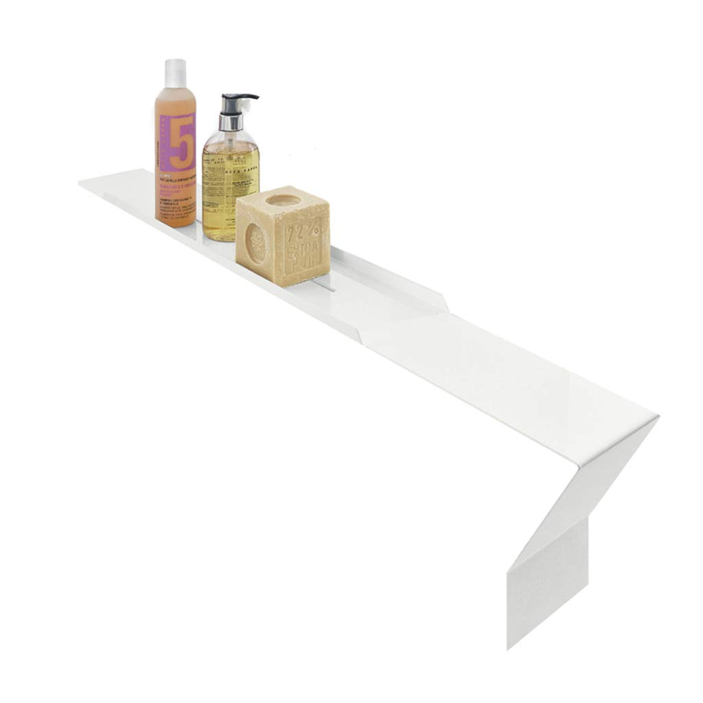Bathtub Accessories Bathroom Shelf Bathroom Tray Bathroom Bridge SPA Bath 304 Stainless Steel Waterproof Simple Bath Storage Board Bathroom Accessories (Color : White, Size : 81cm18cm10cm)