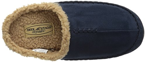 Indoor Clog Men's Navy S O Outdoor Deer R Stags Nordic U Cushioned P Sock Slipperooz Slipper UPBxBOw