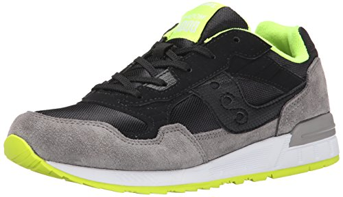 Saucony Originals Shadow 5000 Boys - Zapatillas Niños Negro / Gris / Lima