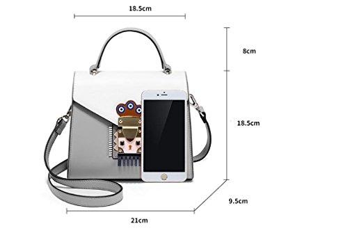 sacs à Design Fashion fourre C bandoulière élégant sacs femmes à des Sacs tout pour les main à d'épaule Couleur A femmes main 8IdTSq