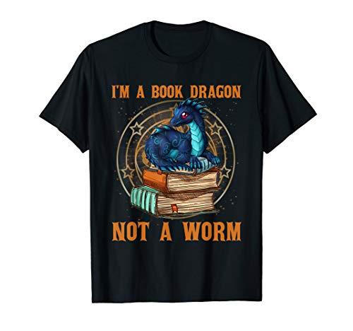 MIAPRINTSPRO I'm A Book Dragon Shirt For Men