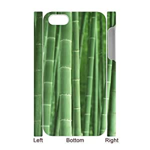 3D Bumper Plastic Case Of Bamboo customized case For Iphone 4/4s hjbrhga1544