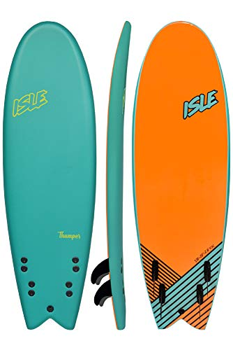 """ISLE Thumper 5'10"""" Soft Top Surf Board Package"""