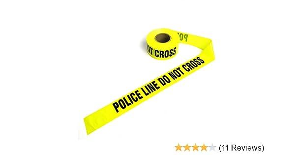 Crime Scene Barricade Tape (Yellow-Police Line)