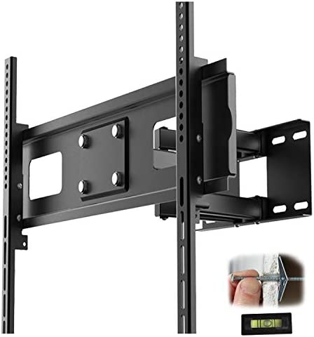 SVD Full Motion TV Mount for 37 70 Inch Screen TVs, Arm up to VESA 600x400mm 110lbs Black