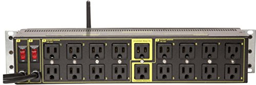 Echo Compatible Power Switching - 2 Inputs, 8 Circuits, 16 Switched Outlets, 2 Unswitched, Surge Protection, Web & Script Control Amp/Volt Meters, WiFi, HTTPS, SSH, Lua, NOW ALEXA / ECHO COMPATIBLE by DIGITAL LOGGERS (Image #1)