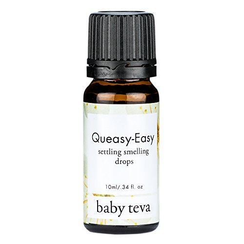 Prenatal Nausea and Pregnancy Morning Sickness Natural Sniffing Essential Oil Aromatherapy Inhaler | Upset Stomach Queasy Easy Formula 10ml (Best Cure For Upset Stomach And Vomiting)