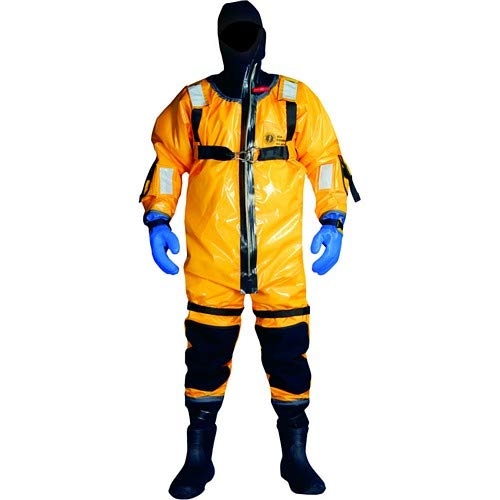 Ice Rescue Suit Commander - Mustang Ice Commander Rescue Suit - Universal - Gold