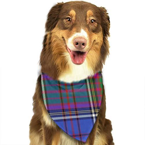 FortniteCOM Dog Bandana Anderson Tartan Triangle Bibs Scarf Printing Kerchief Set Accessories Dogs Cats Pets ()