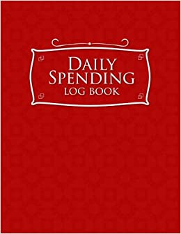 daily spending log book business expense tracker notebook expense