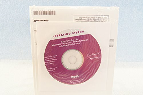 Dell Reinstallation CD Microsoft Windows XP Professional Including Service Pack 1 - PC Computer Program Software Install Disc Driver Part Number 6W896 - Sealed New (Computers & Software)