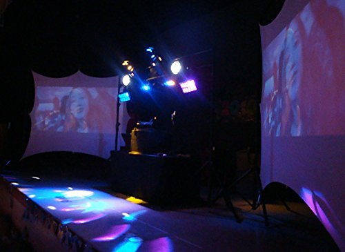 Dj Screen, Projector Screen, Movie Screen, 8x6 Front and Rear