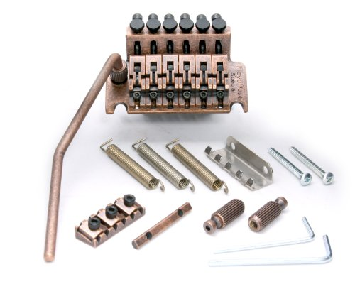 Floyd Rose Special Series Tremolo Bridge w/ R2AB Nut Antique Bronze