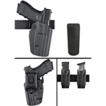 Safariland 579 ROCK ISLAND ARMORY 1911 Belt Clip GLS Multi Pro-Fit Right Hand Black Holster with Ultimate Arms Gear Magazine Belt Pouch