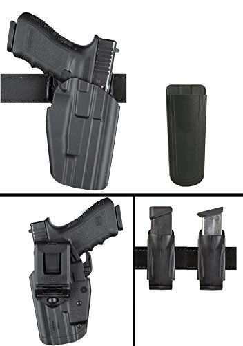 Pro Series Double Retention Holster - Ultimate Arms Gear Safariland 579 STEYR M9A1 Belt Clip GLS Multi Pro-Fit Right Hand Black Holster with Magazine Belt Pouch