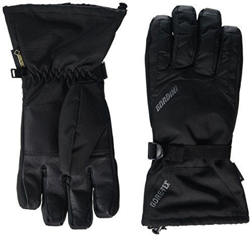Gore Tex Insulated Gloves - Gordini Gore-Tex Promo Gauntlet Glove - Men's Black Large
