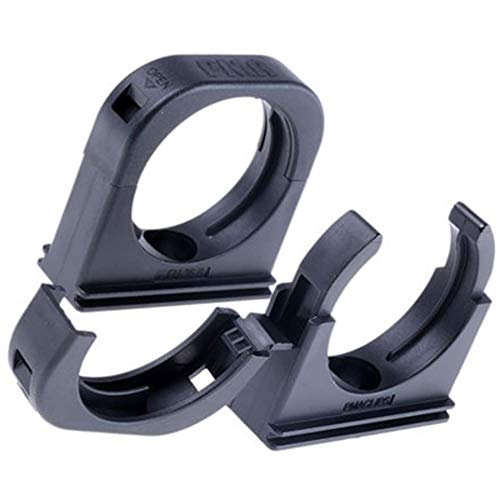 Mount Clip for PMA Conduit; 40mm; Black, Pack of 20