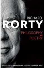 Philosophy as Poetry (Page-Barbour Lectures) Hardcover
