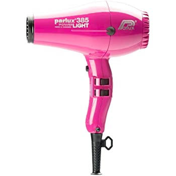 Parlux 385 PowerLight Ionic & Ceramic Hair Dryer Fuchsia/Pink