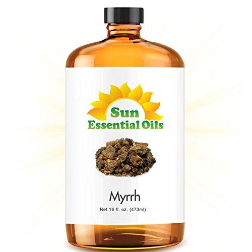 Bulk Myrrh Oil - Ultra 16 Ounce - 100% Pure Essential Oil (Best 16 fl oz / 472ml) - Sun Essential