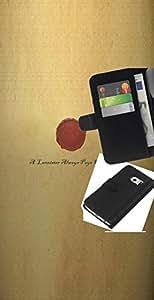 LECELL--Cuero de la tarjeta la carpeta del tirón Smartphone Slots Protección Holder For Samsung Galaxy S6 EDGE -- Un Lannister siempre paga sus deudas --