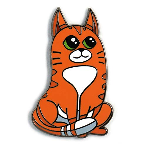 NaviPins Cute Sitting Cat Enamel Lapel Pin