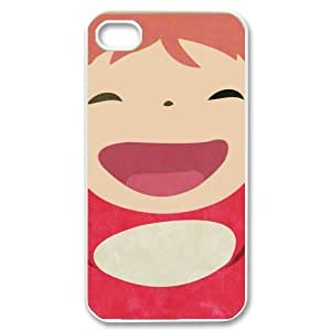 Japanese animated fantasy film Ponyo Iphone 4 4S Case, Cartoon Protective Snap-on Hard Back Case Cover at diystore