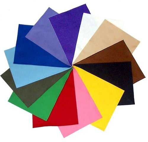 "100% Merino Wool Craft Felt - 8"" x 12"" sheet - 13 color set by Weir Crafts"