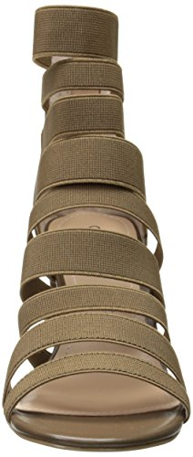 Charles Women's Elastic by Erika David Gladiator Smooth Sandal Charles 66SxFwr1q