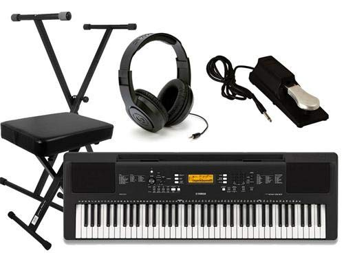 Yamaha PSR-EW300 Ultimate Portable Keyboard Package