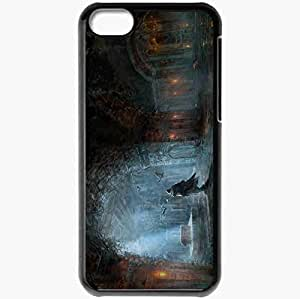 Personalized iPhone 5C Cell phone Case/Cover Skin Assasin S Creed Black