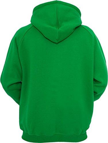 c Hoody Sudadera Classics para Urban Hombre Zip green Hqz6w1c4