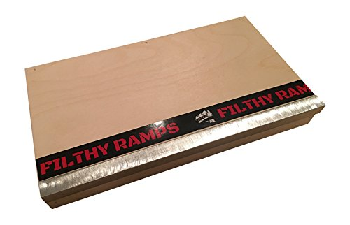 Venice Manual Pad Finger Board Ramp, Black River Style From Filthy Fingerboard Ramps