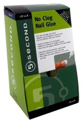 Ibd-5 Second Nail Glue No Clog Bottle 3 Gram (12 Pieces) by IBD