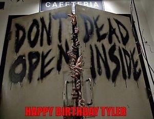 Walking Dead Edible Cake Image Decoration Topper -