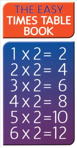The Easy Times Table Book (Know How) (Timetable Book)