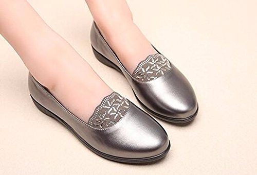 sola età 50 età di nine KPHY anni anziani 40 scarpa 42 signora Thirty di derma china mezza tallone tempo mezza e libero OwTqwE