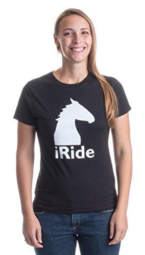 iRide - Ladies' T-shirt / Horse Riding, Jumping, Equine Lover 4H Tee Shirt