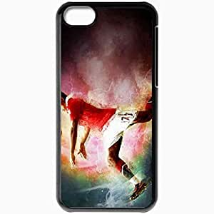 Personalized iPhone 5C Cell phone Case/Cover Skin Abstract pictures of manchester uniteds luis nani Black