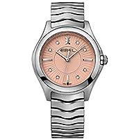 Ebel Wave Galvanic Diamond Dial Women's Watch (Grande Pink)
