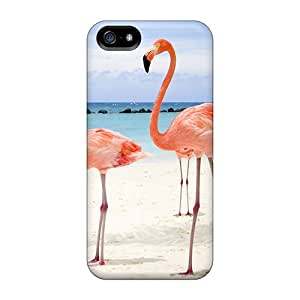 Iphone 5/5s Cases, Premium Protective Cases With Awesome Look - Flamingos