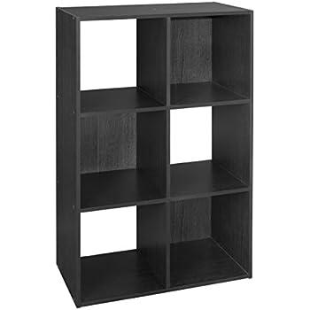 closetmaid 1574 cubeicals organizer 6 cube black home kitchen. Black Bedroom Furniture Sets. Home Design Ideas