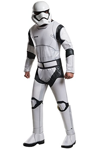 [Mememall Fashion Deluxe Stormtrooper Adult Costume] (Deluxe Cow Mask)