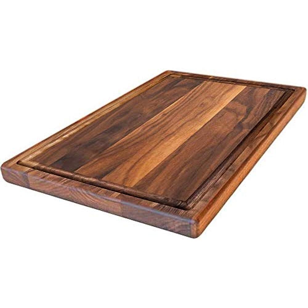 Black Walnut Wood Cutting Board Artisan Born 20x15x1