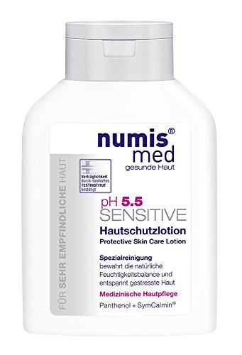 Lotion Extremely Dry Skin - Protective Skin Lotion Imported from Germany Dermatologist Tested 5 Star Guarantee For Dry Sensitive Skin Low ph 5.5 Paraben Free Vegan Moisturizing Body Lotion 200 ml by Numis Med