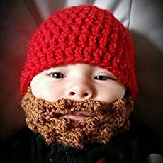Amazon.com  Baby Beard Beanie  Handmade c8444b7ab2b