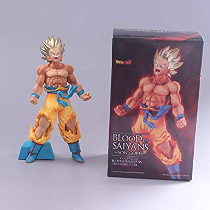 Dragon Ball Z Figuren Sammelfiguren Super Saiyan Son Goku PVC Spielzeug Kinder